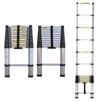 Lbh Tools - Échelle télescopique Zt-a13 alu Hauteur max 3.81m
