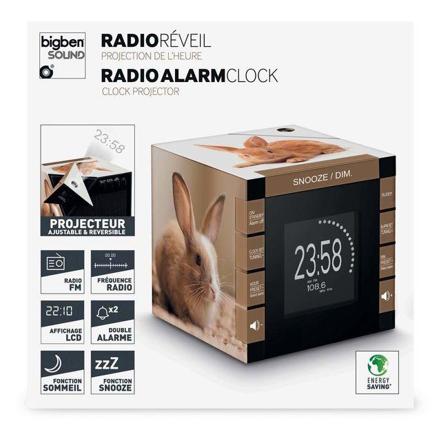 Interactive Radio Réveil cube projecteur décor Lapin