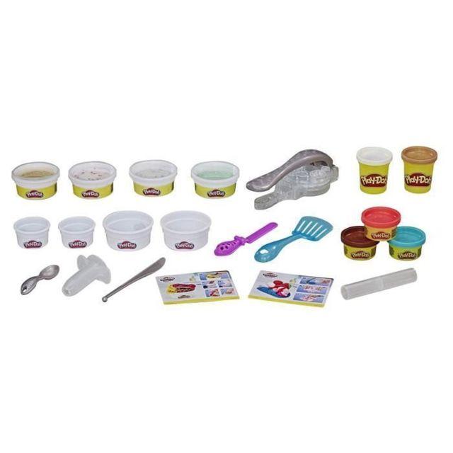JEU DE PATE A MODELER Play-Doh Rollzies - L'heure du goûter