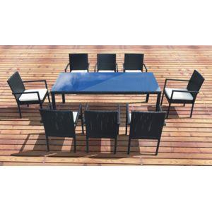 Design et Prix - Magnifique salon de jardin lugano 8, table + 8 ...