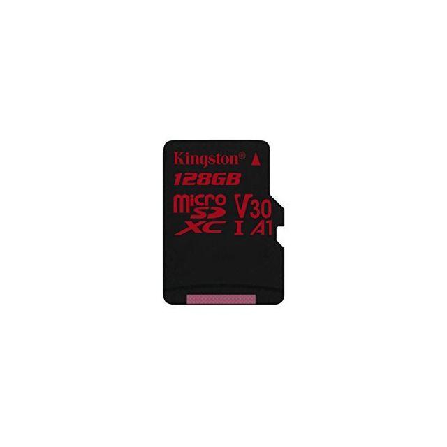 Kingston MicroSDXC Canvas React 128Gb Kingston MicroSDXC Canvas React 128Gb : 100/80 u3 uhs-i v30 a1 (SDCR/128GBSP)
