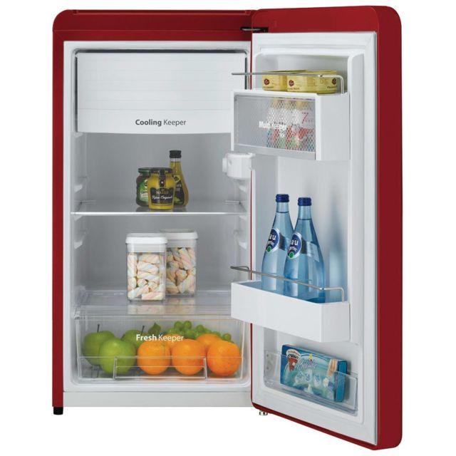Daewoo Réfrigérateur Fn153R Rétro Rouge