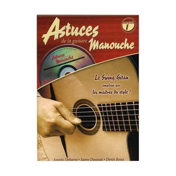 coup de pouce astuces de la guitare manouche vol 1 tab cd pas cher achat vente musique. Black Bedroom Furniture Sets. Home Design Ideas