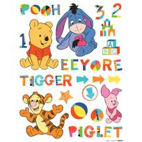 Bebe Gavroche - Stickers géant Winnie & ses amis Bébé Disney