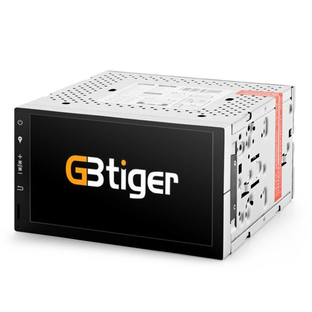 Auto-hightech Système multimédia Gdp 7 pouces pour voiture avec Fonction Bluetooth, Autoradio, Photo - Noir