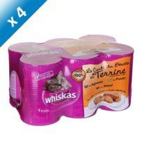 Whiskas - Terrines 6x400g x4