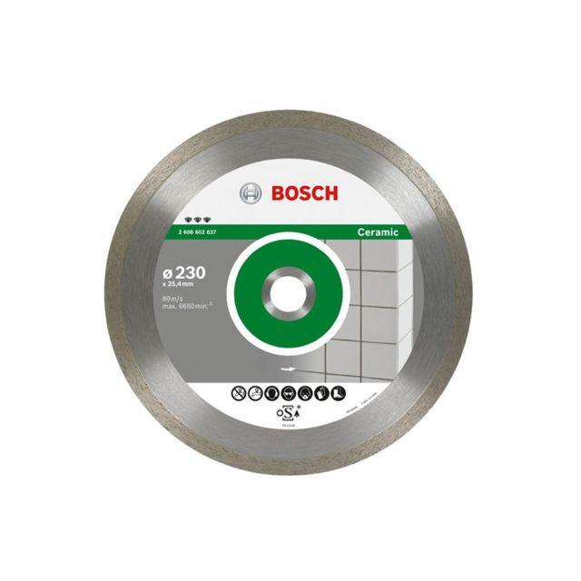 bosch disque diamant best for ceramic 230 al 25 4 2608602637 pas cher achat vente. Black Bedroom Furniture Sets. Home Design Ideas