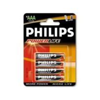 MKT - Piles Phillips LR03 AAA 1.5V powerlife