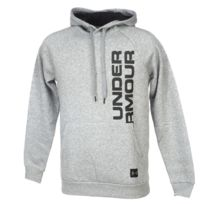 best website 45033 55a16 Under Armour - Sweat capuche hooded Rival fleece cap grs Gris 35651