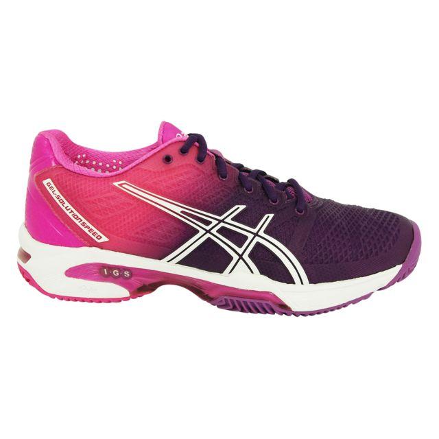 Asics - Gel Solution Speed 2 Chaussures de Tennis Femme - pas cher ... b376dc63d2e5