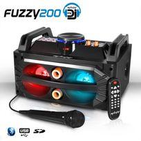 Mydj - Enceinte Karaoke à Leds Rvb 200W - Usb/SD/BT + Micro + Télécommande - My Deejay Fuzzy 200