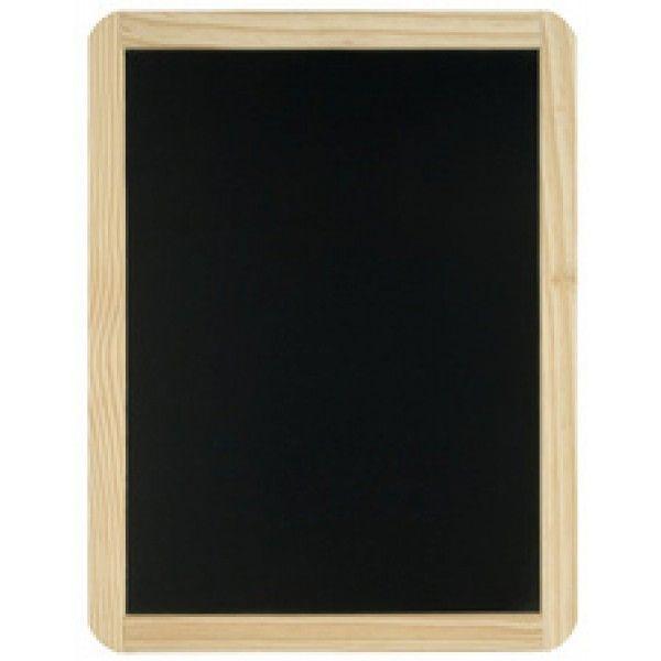 jpc ardoise pour craie 40 x 60 cm avec cadre noir pas cher achat vente craies. Black Bedroom Furniture Sets. Home Design Ideas