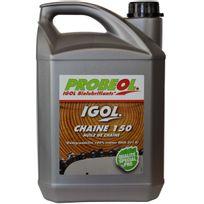 Gt Garden - Huile de chaîne filante bio Igol pour tronçonneuse et élagueuse - 5 litres
