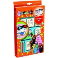 Multiprint - 6859 - Loisir CrÉATIF - Coffret 3D 5 Tampons - Barbapapa