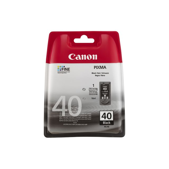 CANON PG-40 - Cartouche d'encre Noir