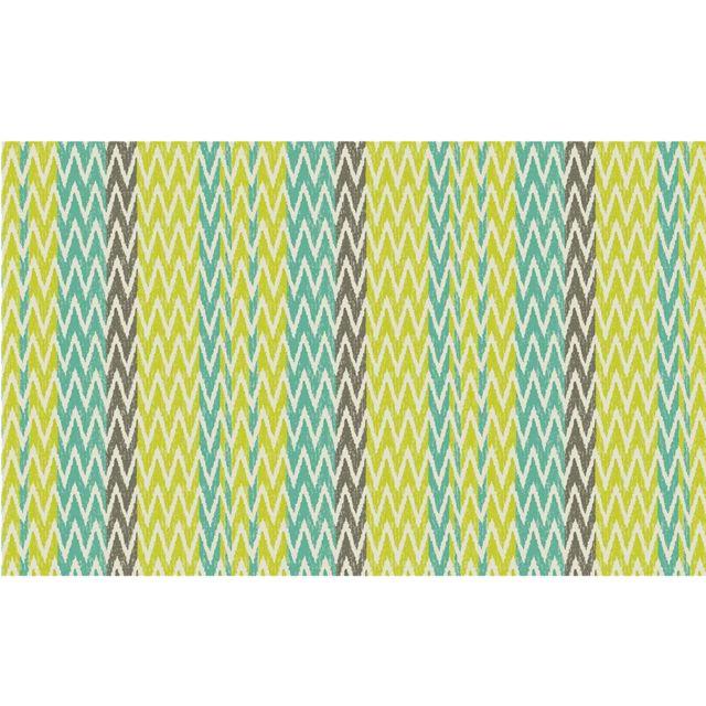 stof tapis d ext rieur anis en polypropyl ne 120 x 180 cm vert pas cher achat vente tapis. Black Bedroom Furniture Sets. Home Design Ideas