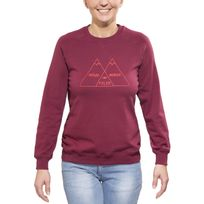 Poler - Venn - Sweat-shirt - rouge