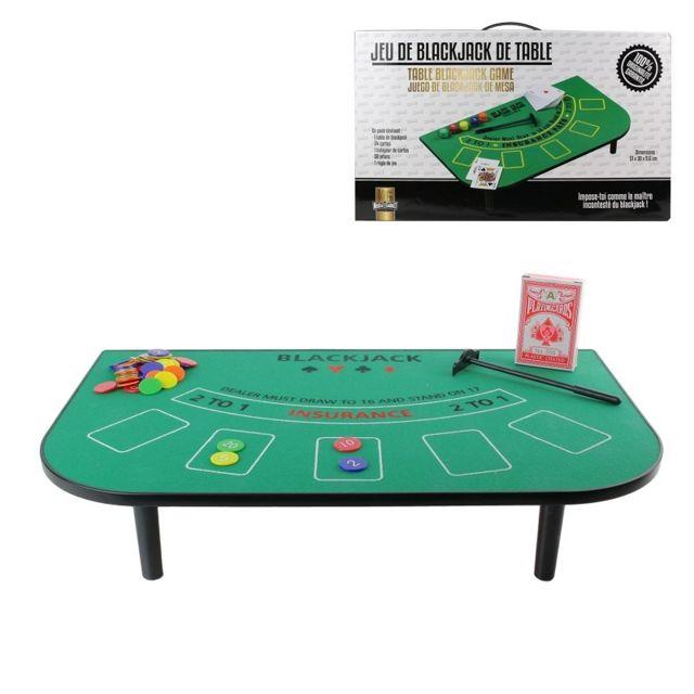 Sans - Set pour Blackjack - Jeu Carte Table Casino - 806