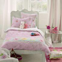 Designers Guild - Taie d'oreiller Ballerina Bunny en Coton Rose - 64 x 64 cm