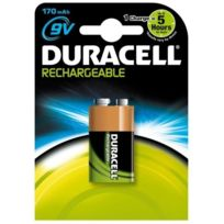 DURACELL - pile alcaline type hr9 9 volts rechargeable - 32660