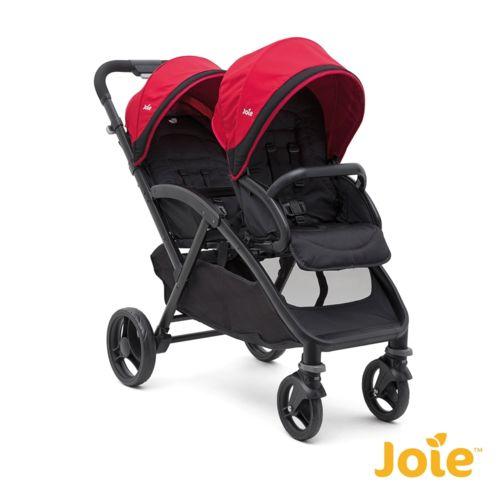 joie poussette double evalite duo cherry naissance 3 ans pas cher achat vente poussettes. Black Bedroom Furniture Sets. Home Design Ideas