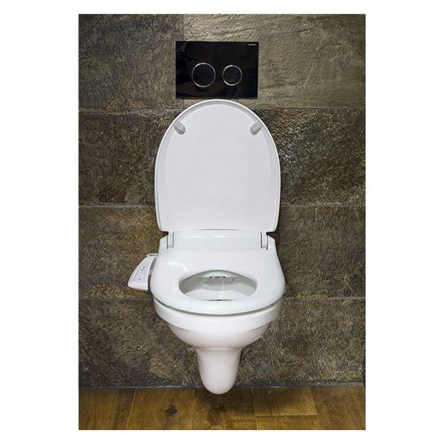 saniclean abattant siege wc japonais toilette electrique lavant chauffant elegance pas cher. Black Bedroom Furniture Sets. Home Design Ideas