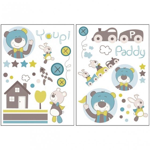 Sauthon - Autocollants stickers décoratifs Paddy - pas cher Achat ...