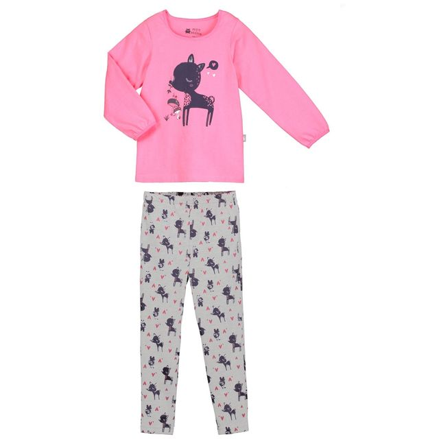 f0856a7f05a26 Petit Beguin - Pyjama fille manches longues Magic - Taille - 6/8 ans ...