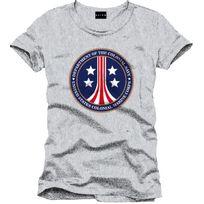 Cotton Division - Alien T-shirt Us Marine Colonial Corps Gris S