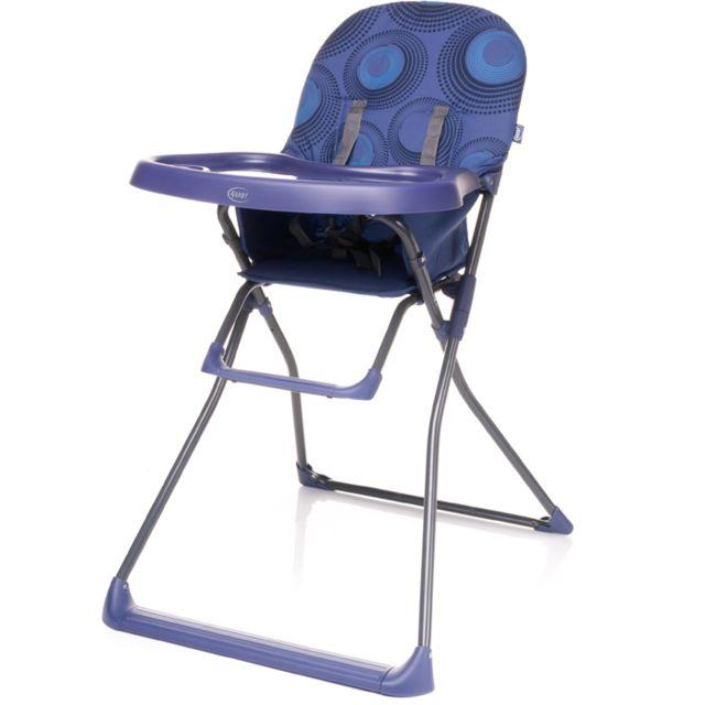 4BABY Chaise haute, pratique et légère Hower | max. 15 kg | violet