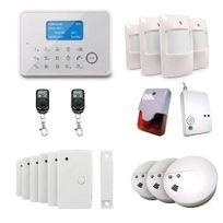 EMATRONIC - Alarme maison sans-fil filaire GSM AL02 ULTIMATE 4-5 pièces