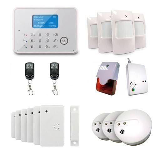 ematronic alarme maison sans fil filaire gsm al02 ultimate 4 5 pi ces pas cher achat vente. Black Bedroom Furniture Sets. Home Design Ideas