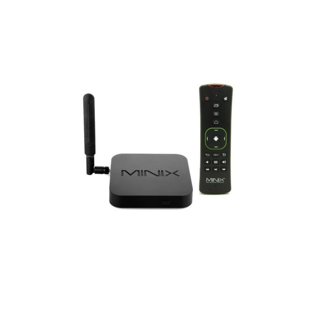 Auto-hightech Box Tv Streaming 4K Android 5.1.1 Quad-core Super Hd + A2 Lite Airmouse – Prise Us