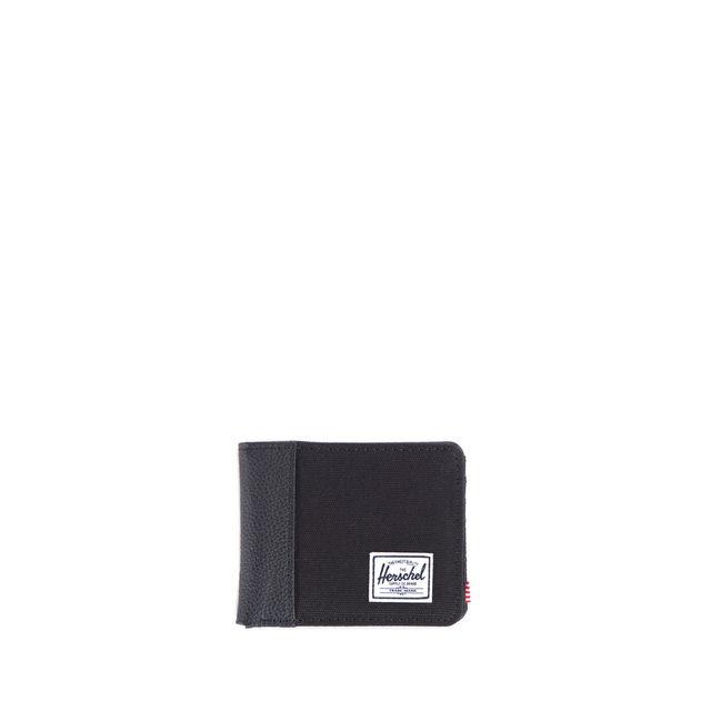 Herschel - Porte-cartes Edward Bi-matière Black Black 00165 - pas ... 1621f464a54