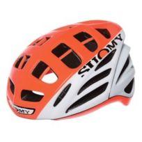 Suomy - Casque Gun Wind High Visibility blanc orange