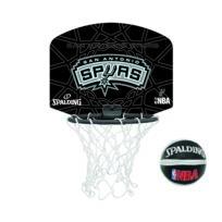 Spalding - Mini Panier San Antonio Spurs Noir