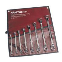 Kraftwerk - Jeu de 8 Clés polygonales contre-coudées