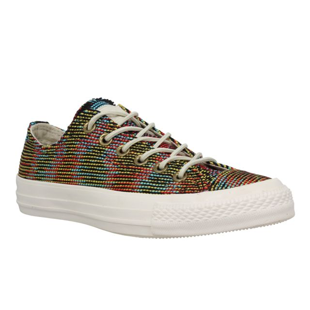 sports shoes 85cad f089b Converse - Converse Chuck Taylor All Star toile Weave Femme Vert Multi