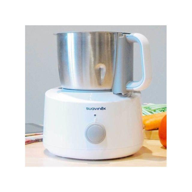 dBb Remond Chef Robot Culinaire 6en1 Cuiseur Bleu Glacier