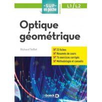 De Boeck Superieur - sup en poche ; physique L1/L2 ; optique géométrique