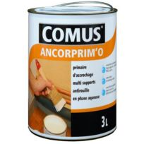 Comus - Peinture Primaire universel phase aqueuse Ancorprim'O Satin 0,75L Blanc - 20170
