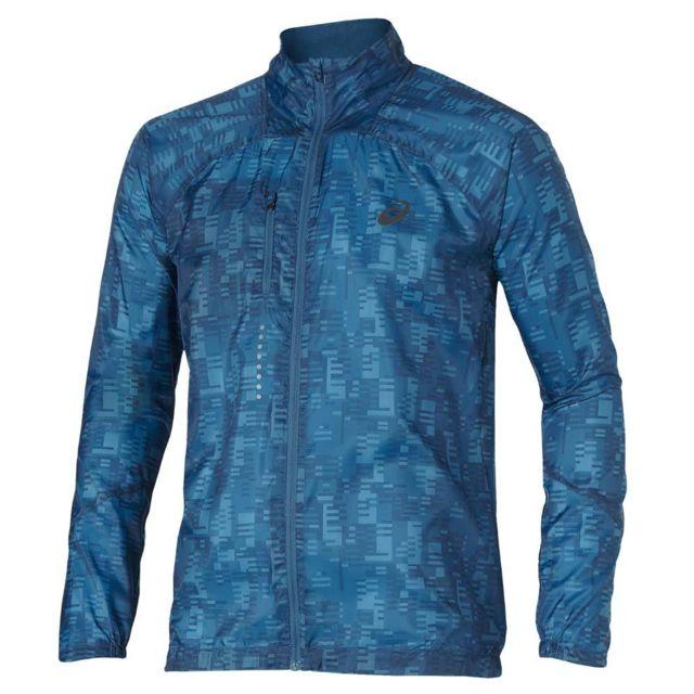 8c7d39cf2b635 Asics - Lightweight Jacket Bleue Veste running Multicolore - XL - pas cher  Achat   Vente Coupe-vent, vestes - RueDuCommerce