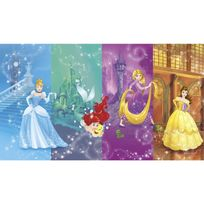 Roommates - Papier peint Panoramique Surestrip pose sans colle, scenes Princesses Disney 320X182 Cm