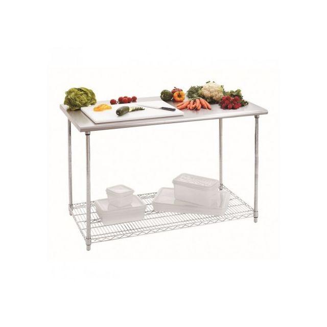 Bartscher Table Inox Professionnelle - Profondeur 600 inox 600