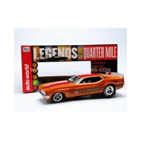 Auto World - 1/18 - Ford Mustang Funny Car - L.A Hooker 1971 - Aw1106