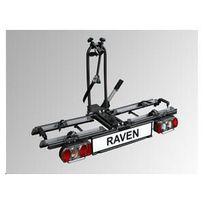 Las - Porte velo 2 velo pliable en acier Raven