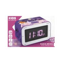 Bigben - Interactive - Radio réveil double alarme projecteur rose +fée  violette 1fa2f1a2d40c