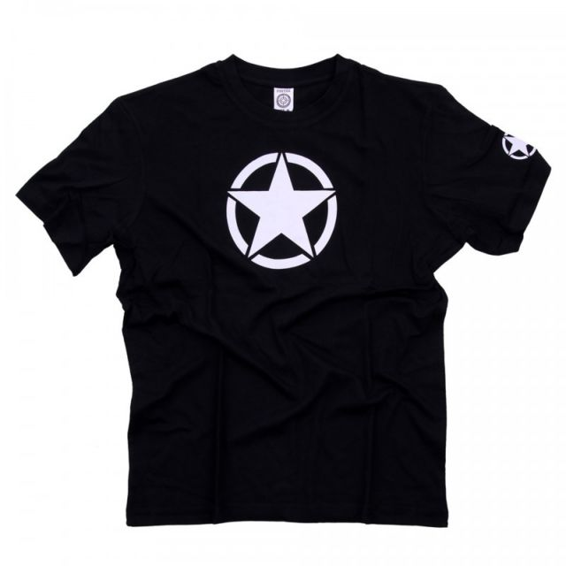 Fostex Tee shirt Noir Etoile Blanche XL pas cher Achat