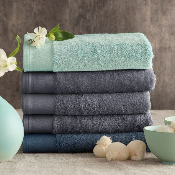 santens drap de bain coton bambou 650gr m2 70x140cm bamboo anthracitenc gris pas cher. Black Bedroom Furniture Sets. Home Design Ideas