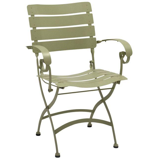 comforium chaise de jardin pliable coloris olive pas. Black Bedroom Furniture Sets. Home Design Ideas